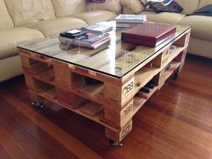 Comment faire une table basse soi m me ecopros - Comment faire une table basse avec des palettes en bois ...