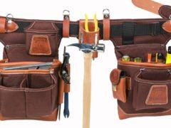utiliser une ceinture porte-outils pour plus de praticité