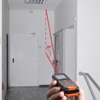 le télémètre laser d'intérieur